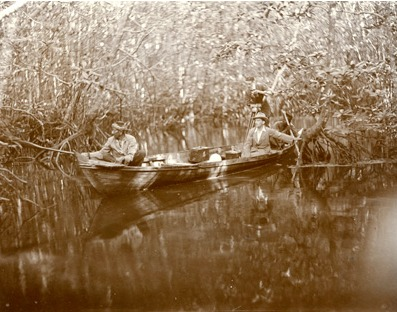 Lowell Thomas in Mangrove Swamp