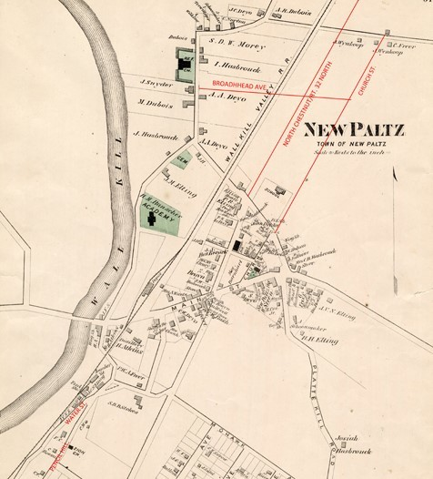 Amended VILLAGE of New Paltz, Beers MAP small and cropped.jpg
