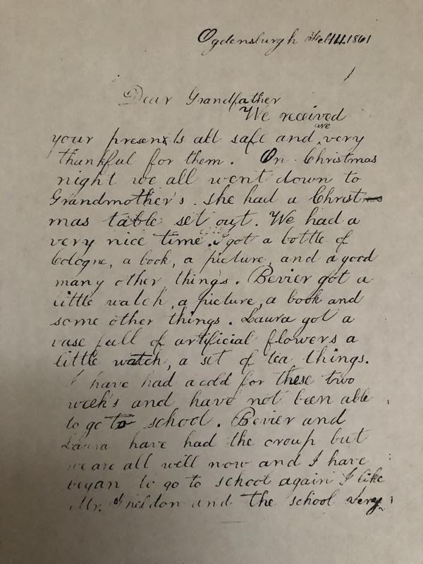 Levi Feb. 14th 1861