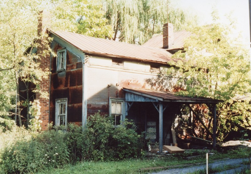 17 Mulberry Street, Jacob Wynkoop house, demolished, c. 1982, slide owner William Rhoads, #7018-CP.jpg