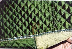 CRS & PCRS, green silk quilt (tx00210).jpg