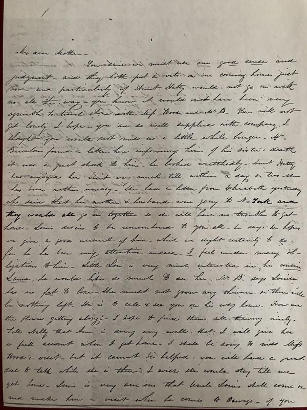 Sarah Maria Sept. 6th 1848