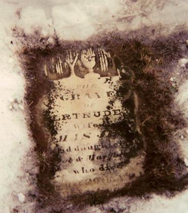 Gertrude tombstone