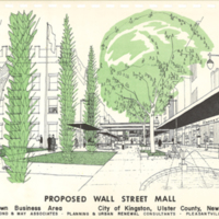 11 Proposed Wall Street Mall 1961 Comp Plan 450px.jpg