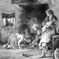 Women in a poor house