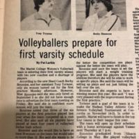 &quot;Volleyballers prepare for first Varsity Schedule,&quot; <br /><br /> 1978 SEP 14