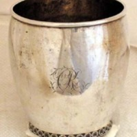 Catherine Rutsen Suckley silver beaker (00375)