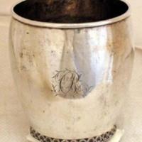 Catherine Rutsen Suckley silver beaker (00375)