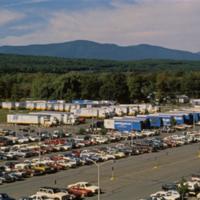 12 060 Trucks in parking lot waiting to ship mainframes 450.jpg