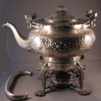 hot water kettle & burner (00383)